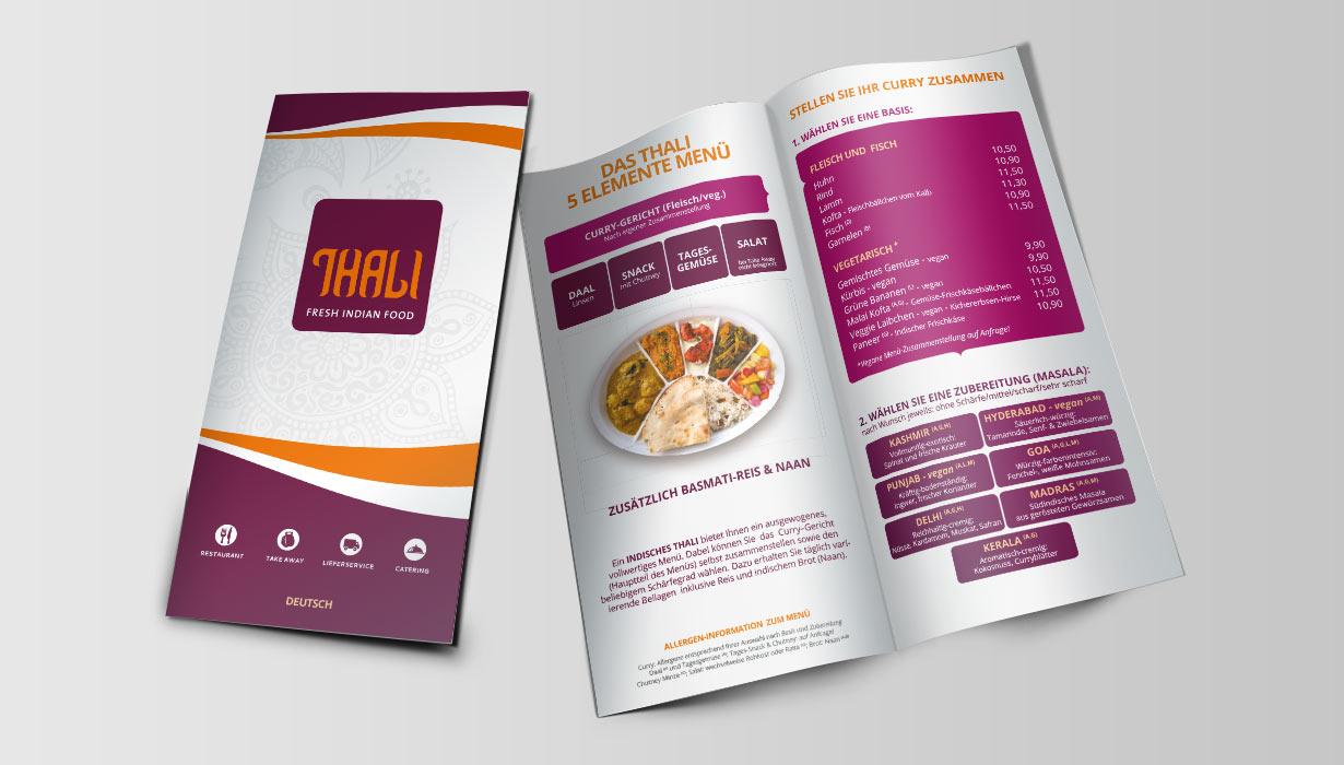 thali menu